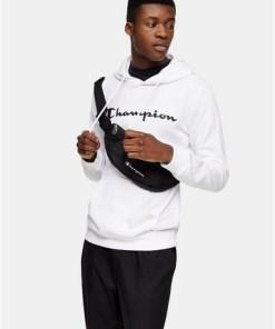 CHAMPION Kapuzen-Sweatshirt, weiß, WEIß