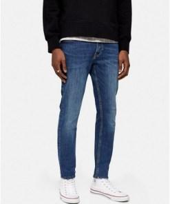 Jack & Jones Skinny Jeans, blau, BLAU
