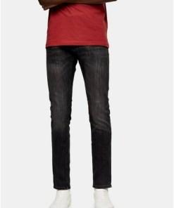 Jack & Jones Stretch Skinny Jeans, schwarz, SCHWARZ