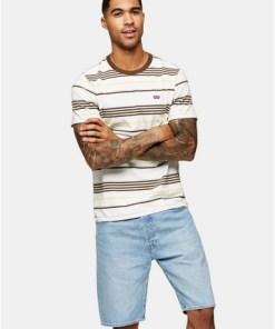 MULTILEVI'S T-Shirt mit mehrfarbigem Streifendesign, MULTI