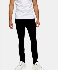 Wrangler Skinny Jeans, schwarz, SCHWARZ