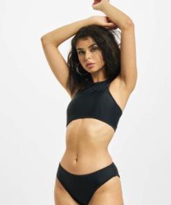 Urban Classics Frauen Bikinis Surf in schwarz