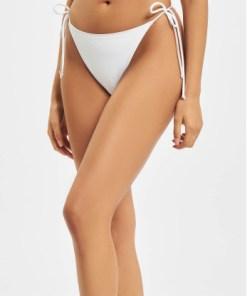 Missguided Frauen Bikinis Tie Side Bikini in weiß