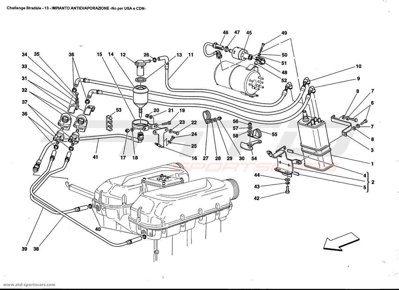 Ferrari 360 Challenge Stradale Air Intake