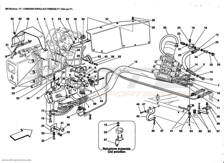 Ferrari 360 Modena Gearbox