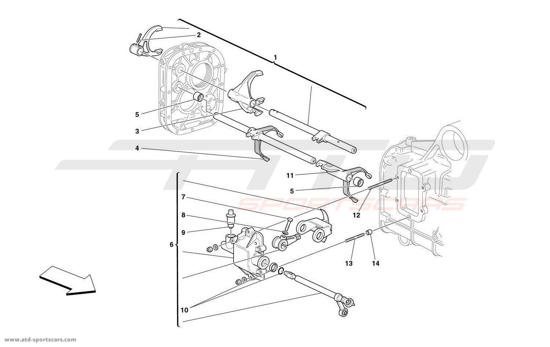 Ferrari 360 Spider Gearbox