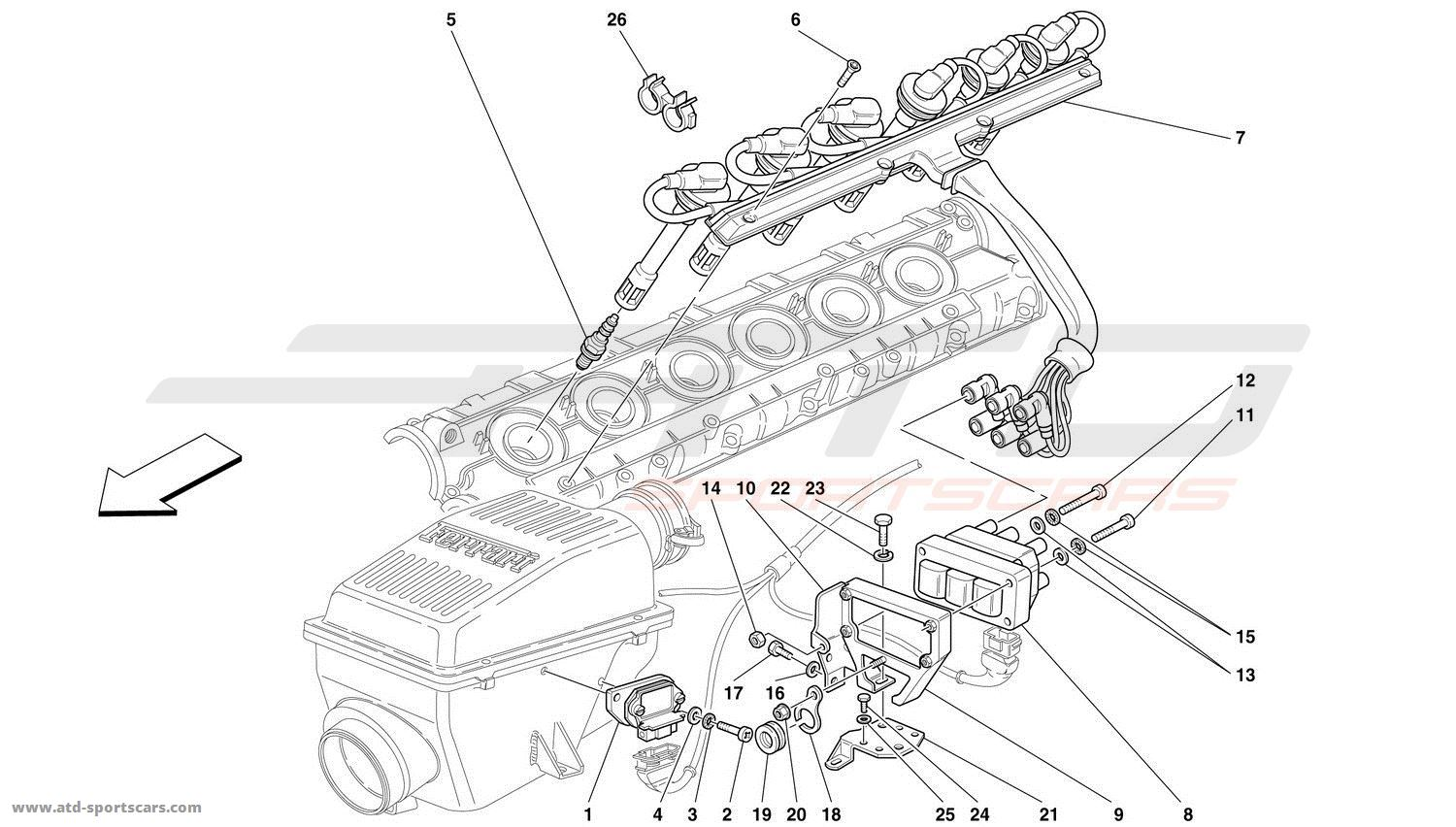 Ferrari 360 Engine Diagram Ferrari Auto Wiring Diagram