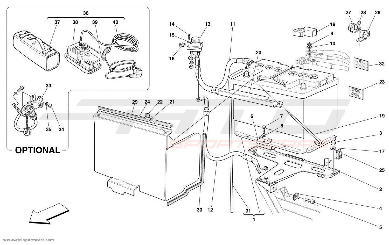Ferrari F430 Wire Diagram