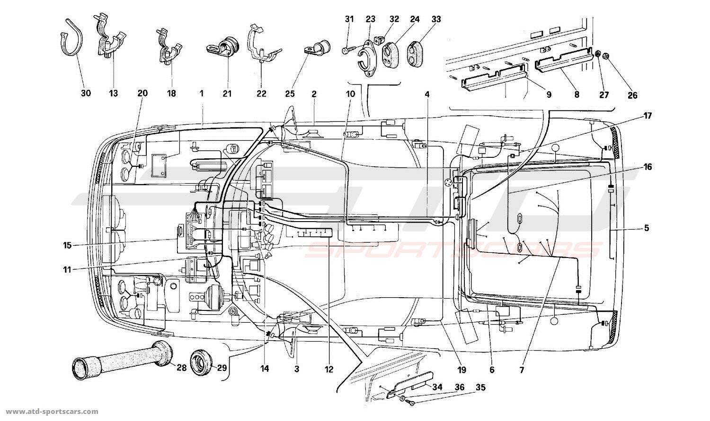 Ferrari 512 M Electrical Parts At Atd Sportscars