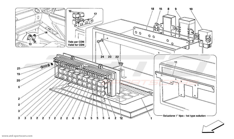 Ferrari 456 Gt Fuse Box Diagram
