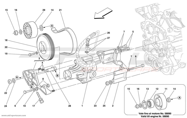 C3 Corvette Front Spindle Parts Diagram