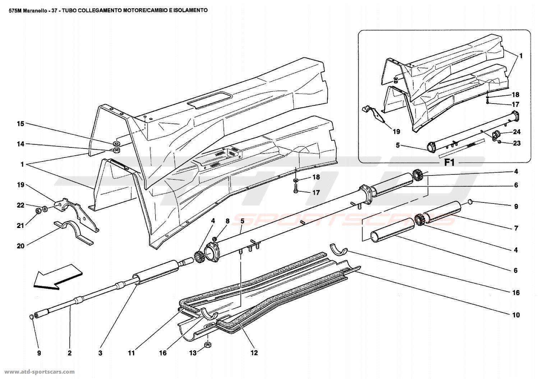 Ferrari 575 Maranello Body Parts At Atd Sportscars
