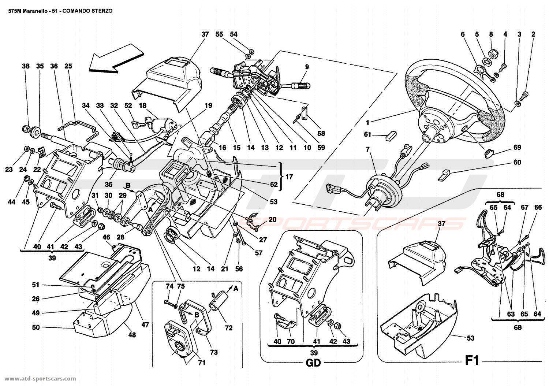Ferrari 575 Maranello Interior Parts At Atd Sportscars