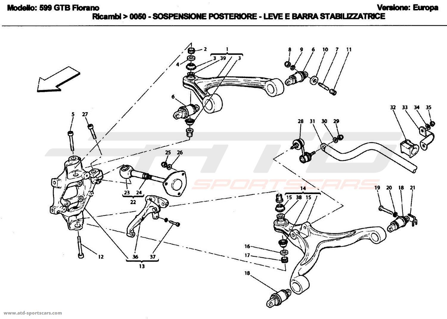C3 Corvette Suspension Diagram 3d