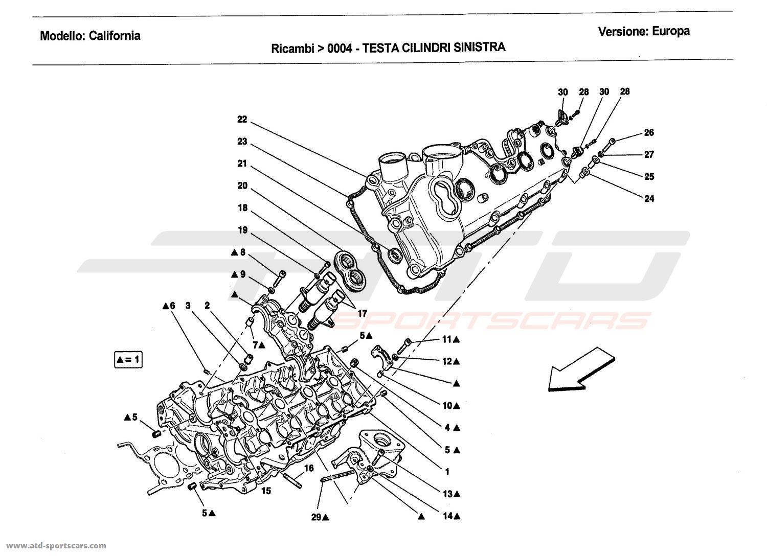 Ferrari California Engine Parts At Atd Sportscars