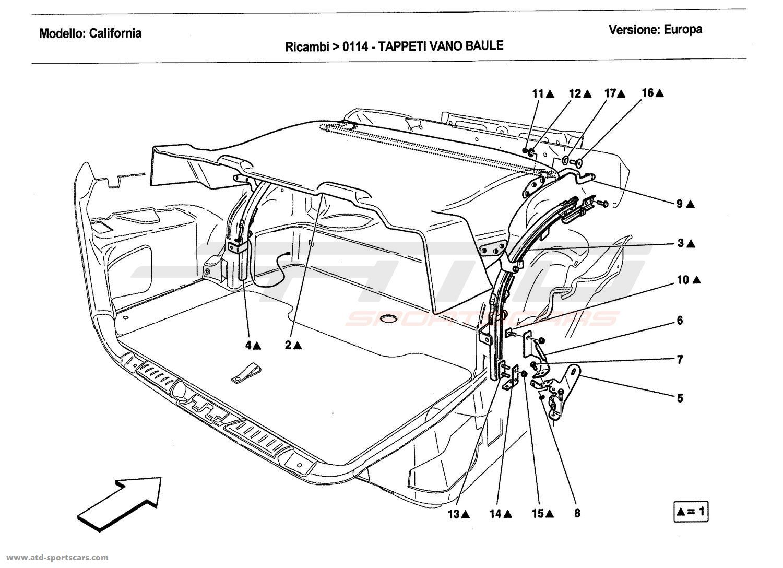 Ferrari California Interior Parts At Atd Sportscars