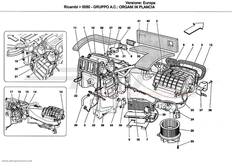 Ferrari Gt Car Parts