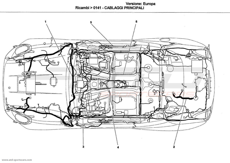 Ferrari California Electrical Parts At Atd Sportscars