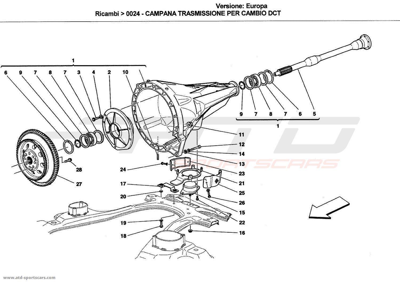 Ferrari California Parts