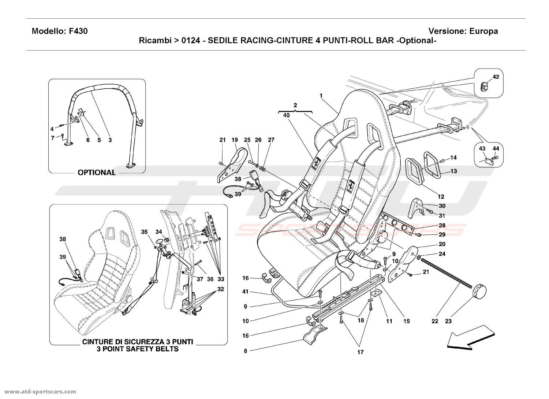 Ferrari F430 Coupe Interior Parts At Atd Sportscars