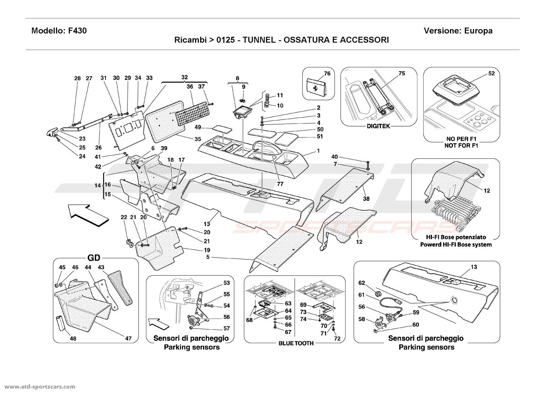 Porsche 928 S4 Parts Diagrams