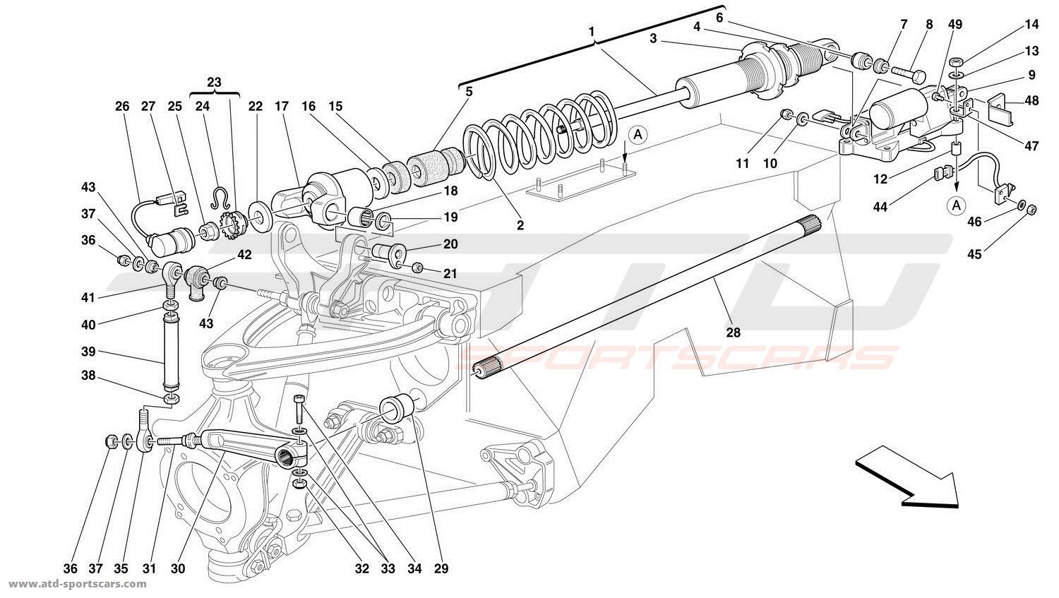 Ferrari F50 Undercarriage Parts At Atd Sportscars