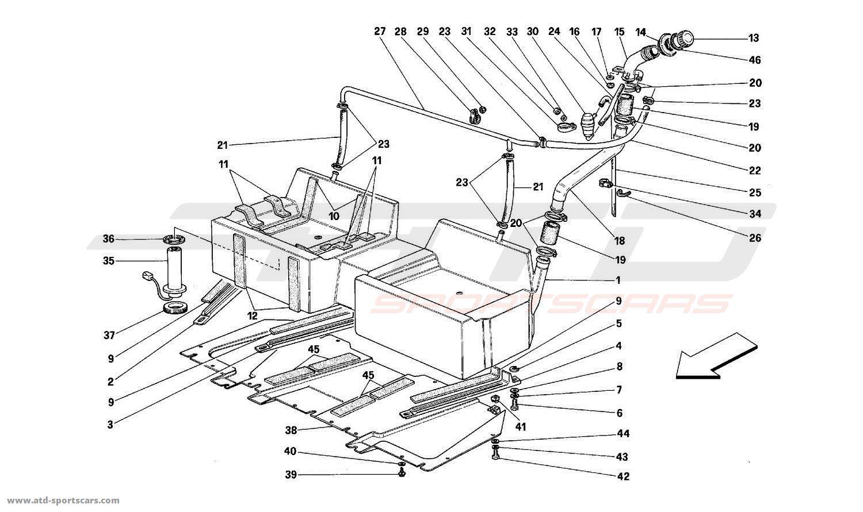 Ferrari Mondial T Air Intake