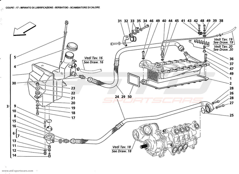 Maserati Gt Coupe Lubrication System