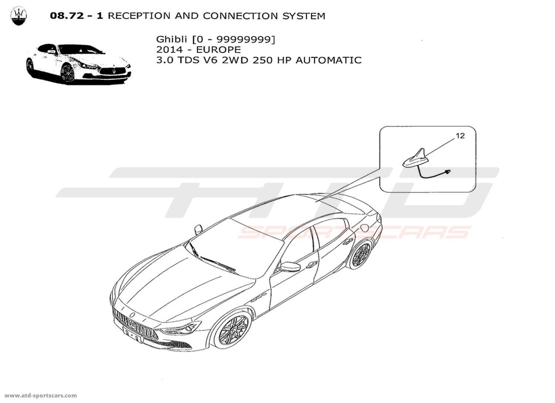 Maserati Ghibli V6 3 0lsel Auto Electrical Parts