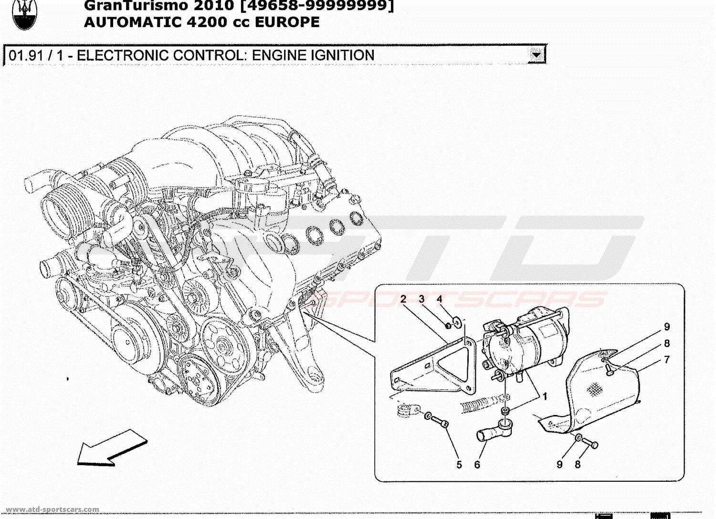 Maserati Granturismo 4 2l Boite Auto Electrical Parts At Atd Sportscars