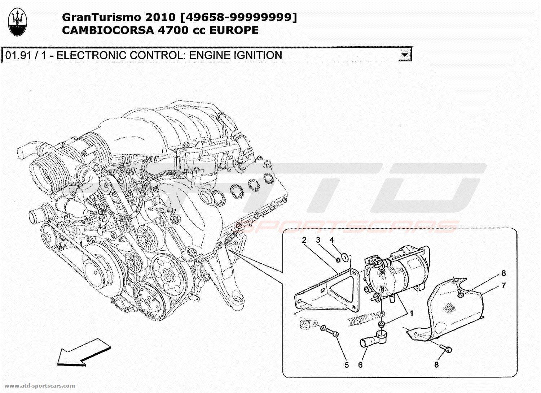 Maserati Granturismo 4 7l Boite F1 Electronic Control