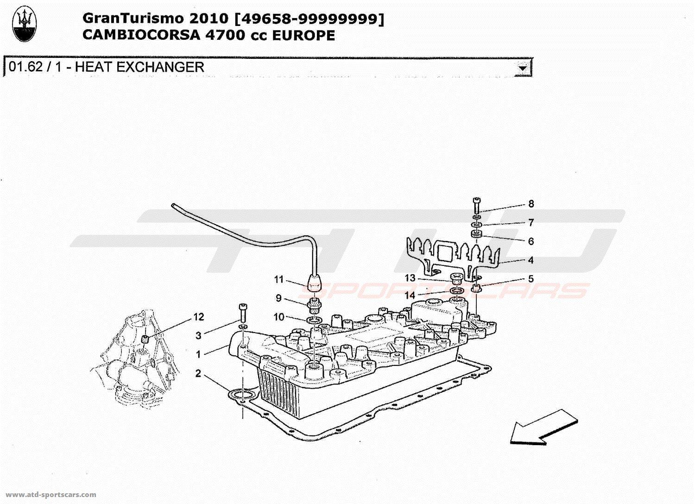 Maserati Granturismo 4 7l Boite F1 Engine Parts At Atd Sportscars