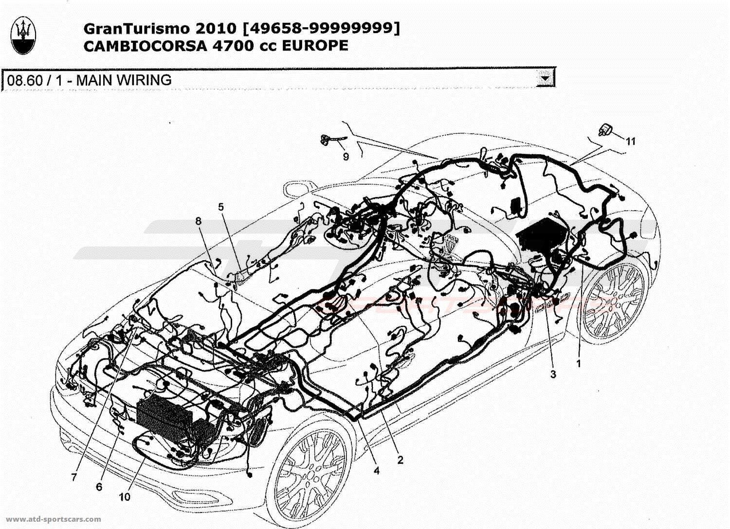 Maserati Granturismo 4 7l Boite F1 Electrical Parts At Atd Sportscars