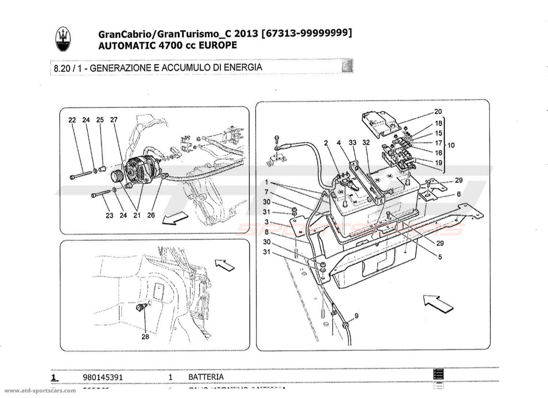 Maserati Granturismo Grancabrio 4 7l Auto Electrical