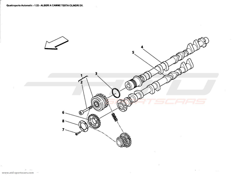 Maserati Quattroporte 4 2l Boite Auto Engine Parts At