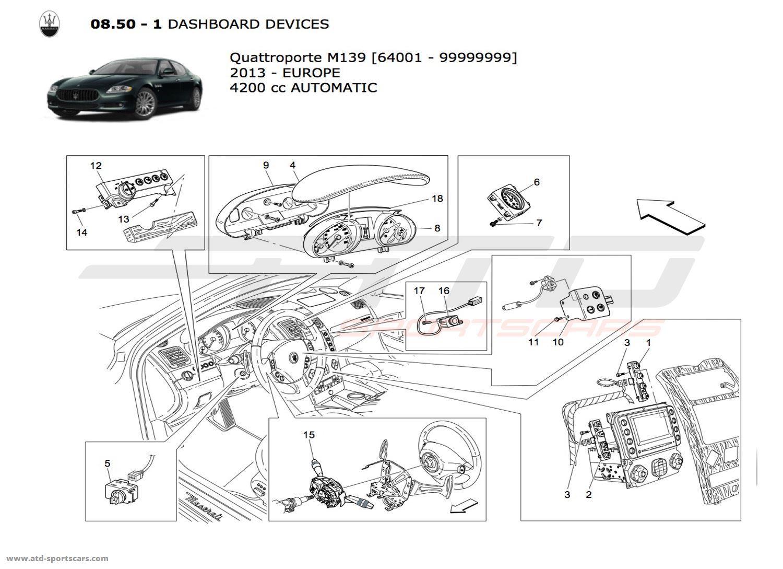 Maserati Quattroporte 4 2l Boite Auto Electrical Parts At Atd Sportscars