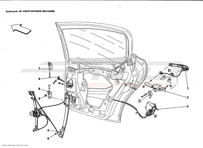 Maserati Quattroporte 4 2l Boite F1 Body Parts At Atd Sportscars