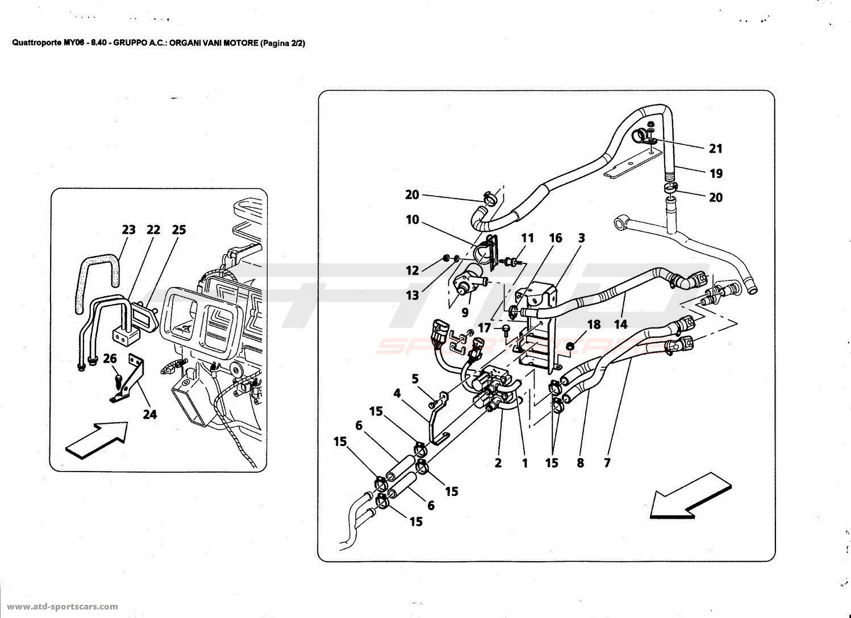 Maserati Quattroporte 4 2l Boite F1 Cooling