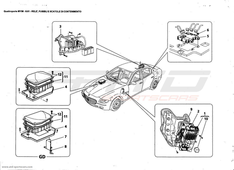 Maserati Quattroporte Horn Fuse Repair