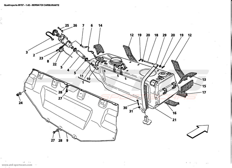 Maserati Quattroporte 4 2l Boite F1 Air Intake