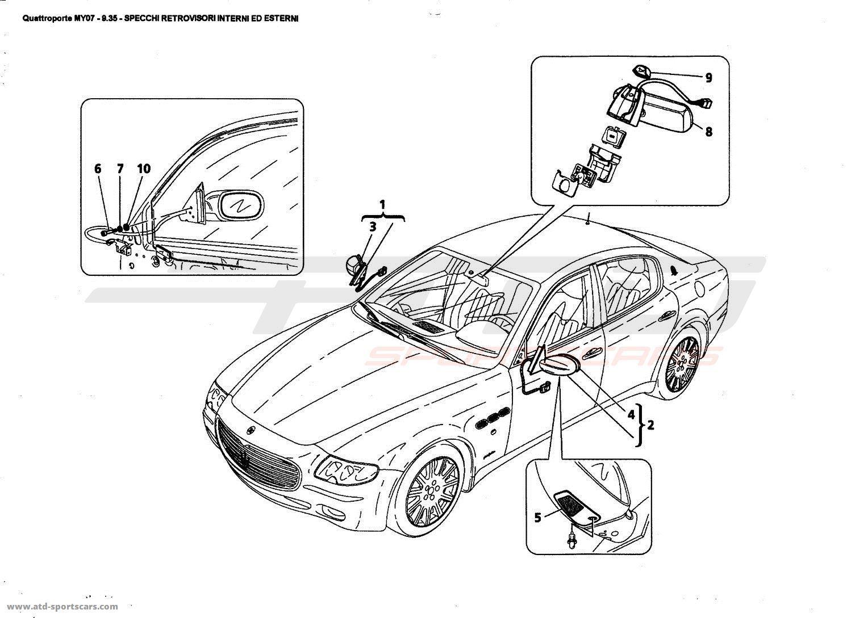 Maserati Quattroporte 4 2l Boite F1 Glasses