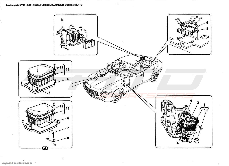 Maserati Tc Fuse Box Location Can You Help Please