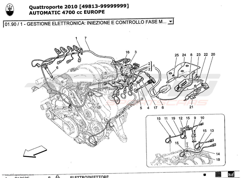 Fuel Pump Maserati Quattroporte Repair