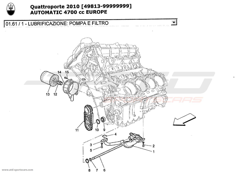 Maserati V8 Engine