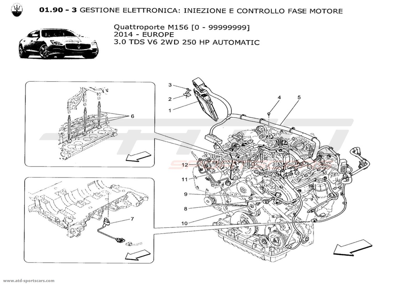 Maserati Quattroporte V6 3 0lsel Auto Electronic