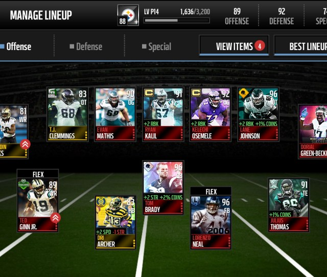 Recommendations On Lineup And Roster Upgrades