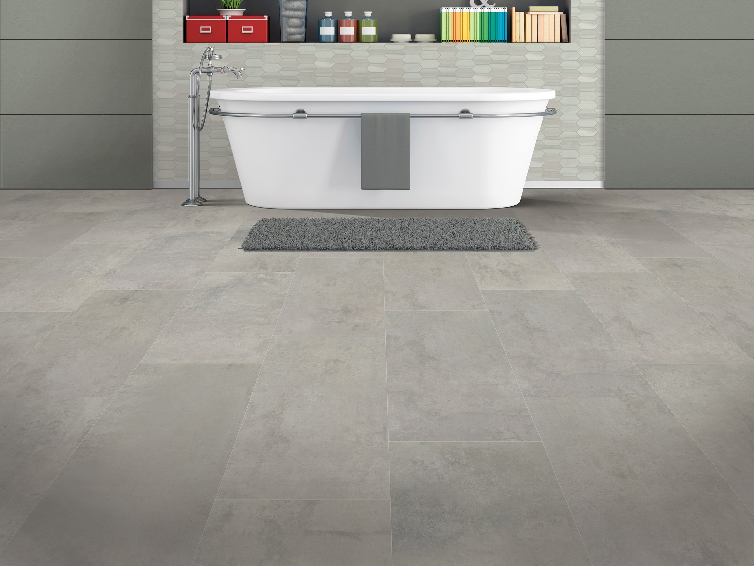 does luxury vinyl tile need to be grouted