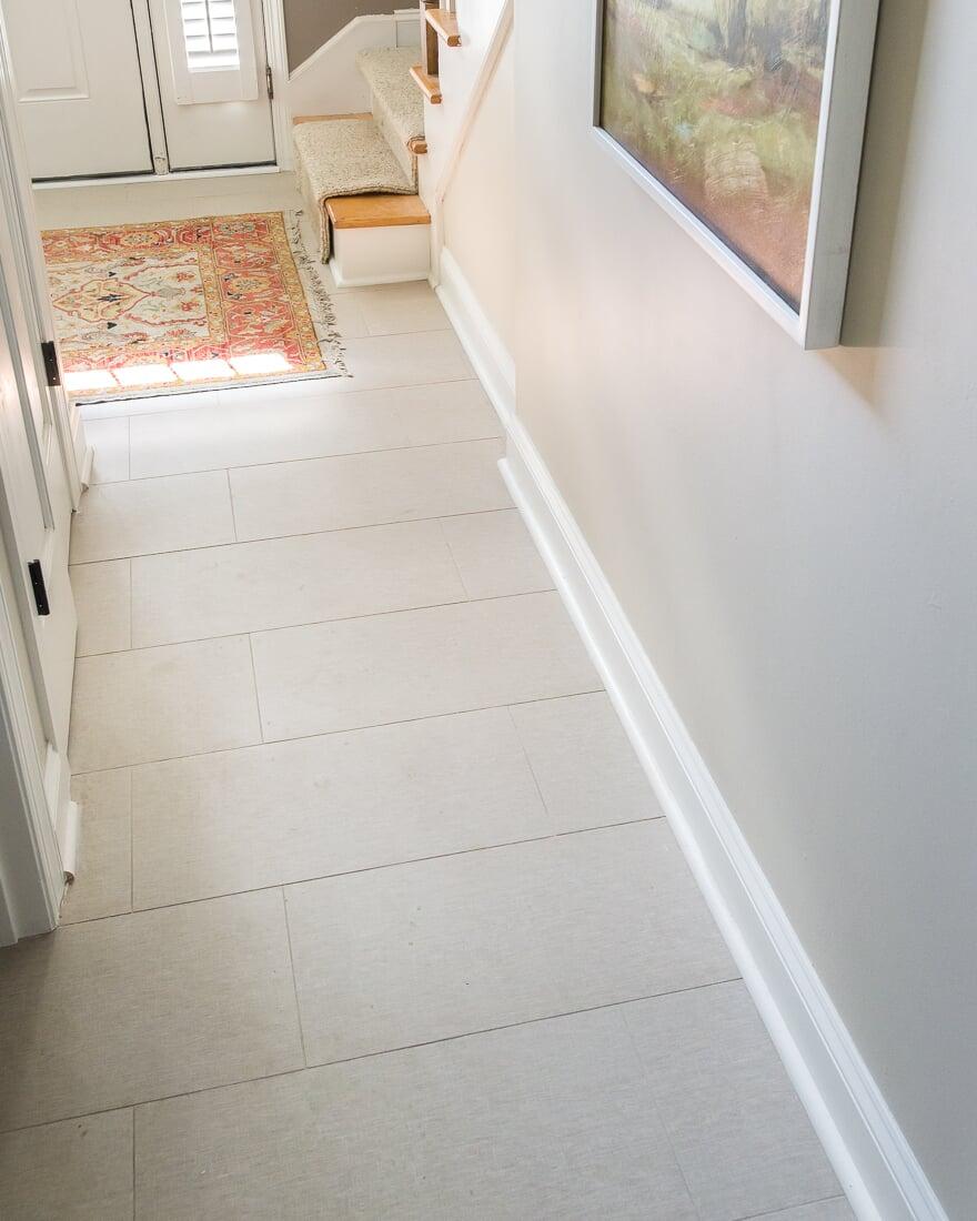 floors powder room tile geneva il
