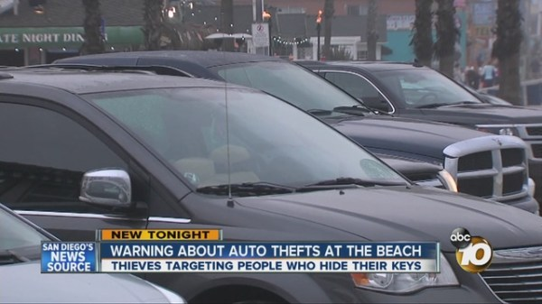 Alert: Spike in car thefts on San Diego beaches - 10News ...