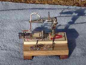 photo of home built detector